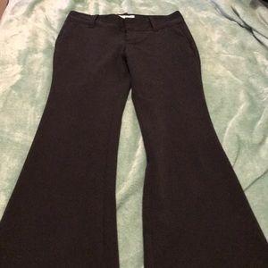 Old Navy black wide-leg dress pants